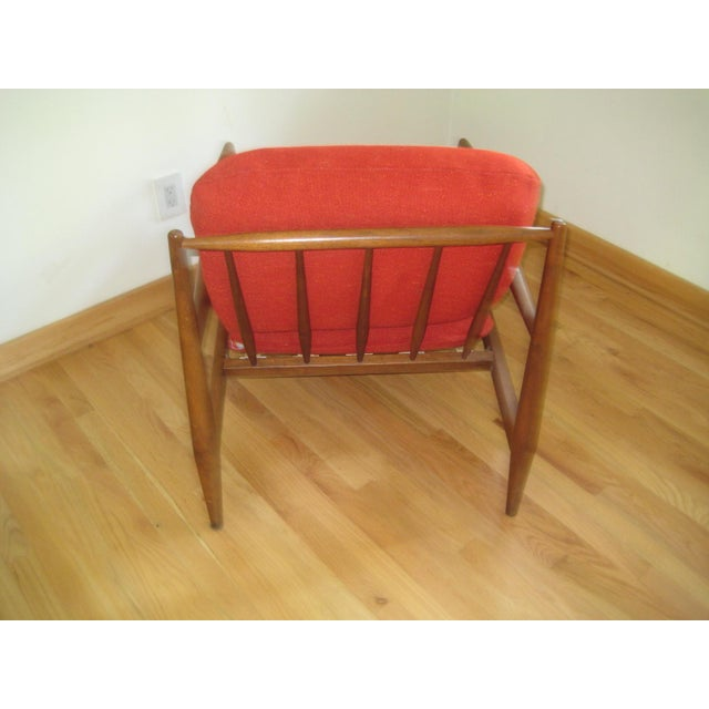 Mid-Century Modern Mid-Century Danish Modern Lounge Chair For Sale - Image 3 of 7