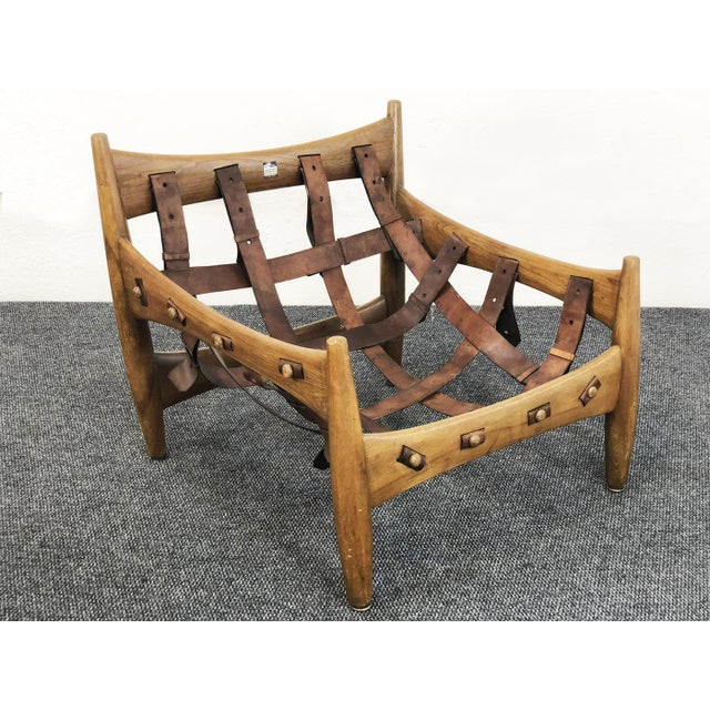 Sergio Rodrigues Sergio Rodrigues - Isa Sergio Rodriguez Sheriff Armchair 1957 For Sale - Image 4 of 6