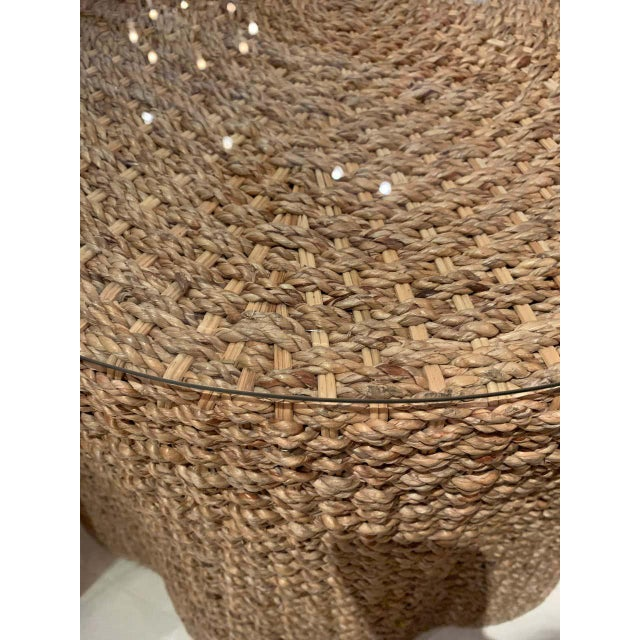 Vintage Trompe l'Oeil Rope Table For Sale In Houston - Image 6 of 7