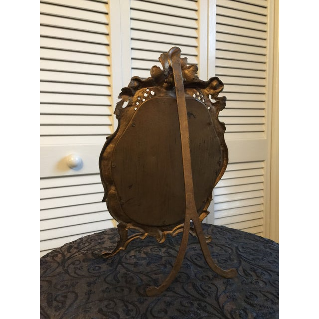1800s Antique Louis XV Style French Vanity Mirror For Sale In Washington DC - Image 6 of 13