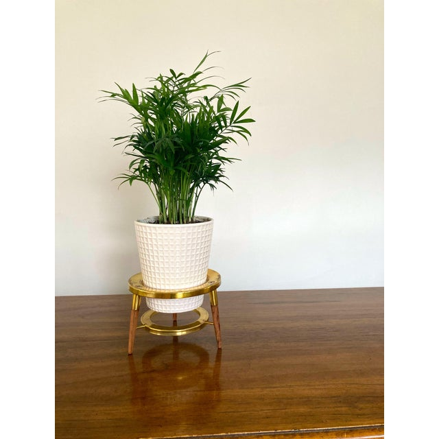 Mid 20th Century Fondue Holder Plant Stand For Sale - Image 4 of 6