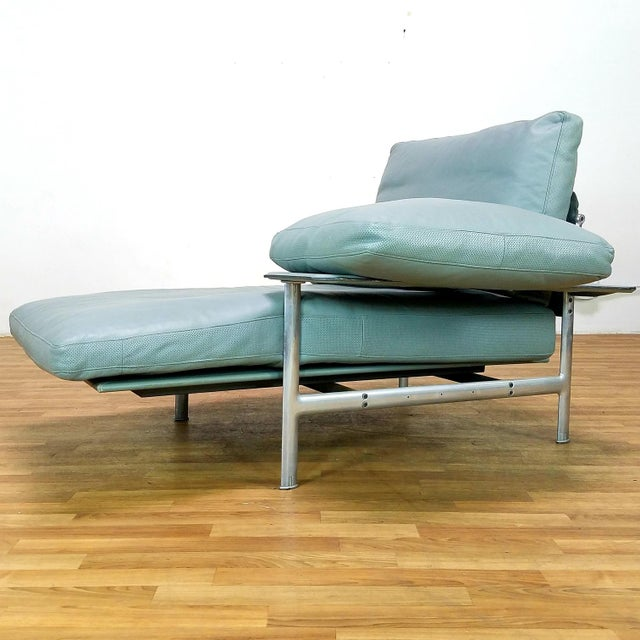 Paolo Nava for B&B Italia Diesis Beige Leather Chaise For Sale - Image 10 of 13