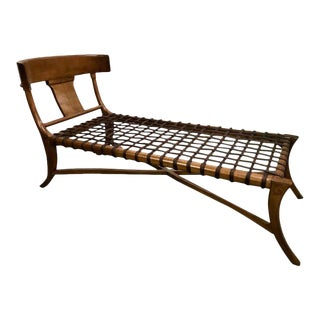 Klismos Chaise Longue, in the Manner of T.H. Robsjohn-Gibbings
