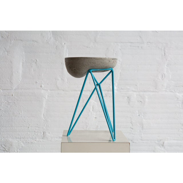 Eiffel - Droop / Artist Spencer Staley Cast Concrete and Steel. c. 2015 Re-editions available. Each piece is unique due to...