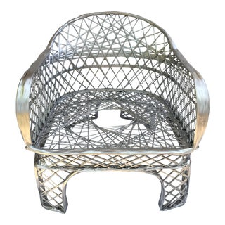 Vintage Spun Fiberglass Arm Chair