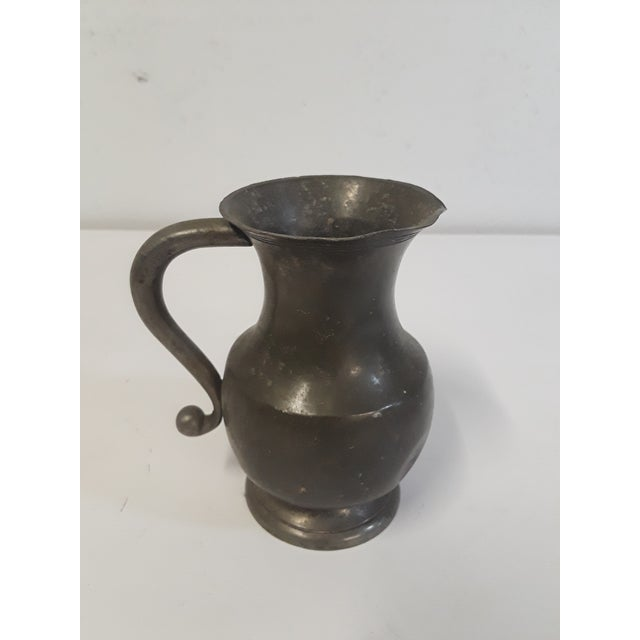 Small Pewter Pitcher - Image 4 of 4