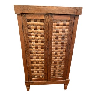 1940's Antique Indonesian Chest For Sale