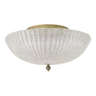 1980s Italian Flush Mount For Sale
