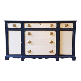 Blue & White Buffet/Sideboard
