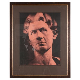 Original Xerography Print of Busts From Antiquity IX For Sale