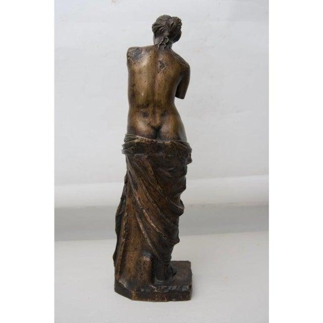 F. Barbedienne Foundry Antique F. Barbedienne Venus De Milo Bronze Sculpture For Sale - Image 4 of 11