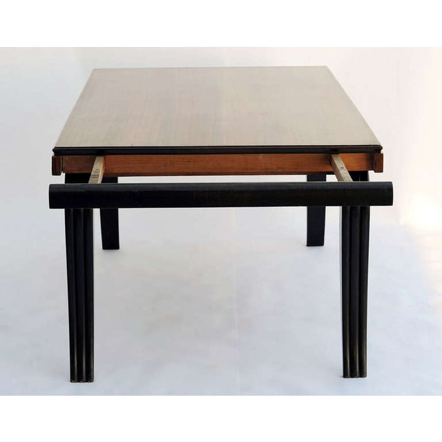 Art Deco Dining Table & 8 Chairs - Style of Leleu - Image 3 of 10