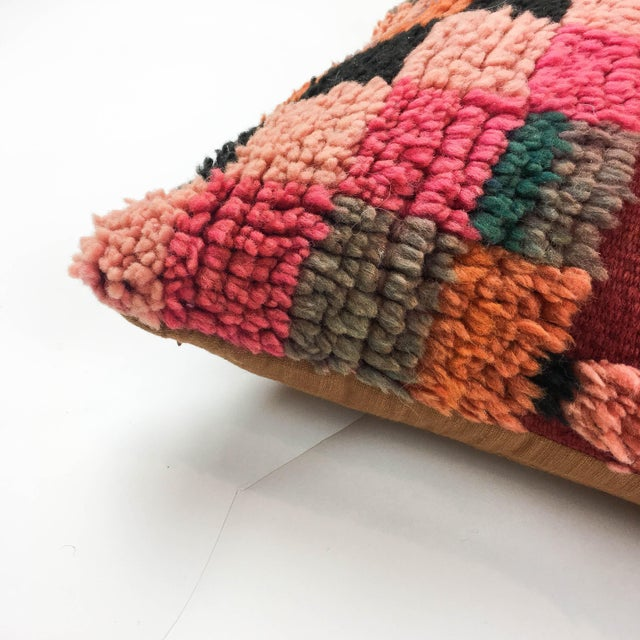 Vintage Moroccan Berber Pillow - Image 4 of 4