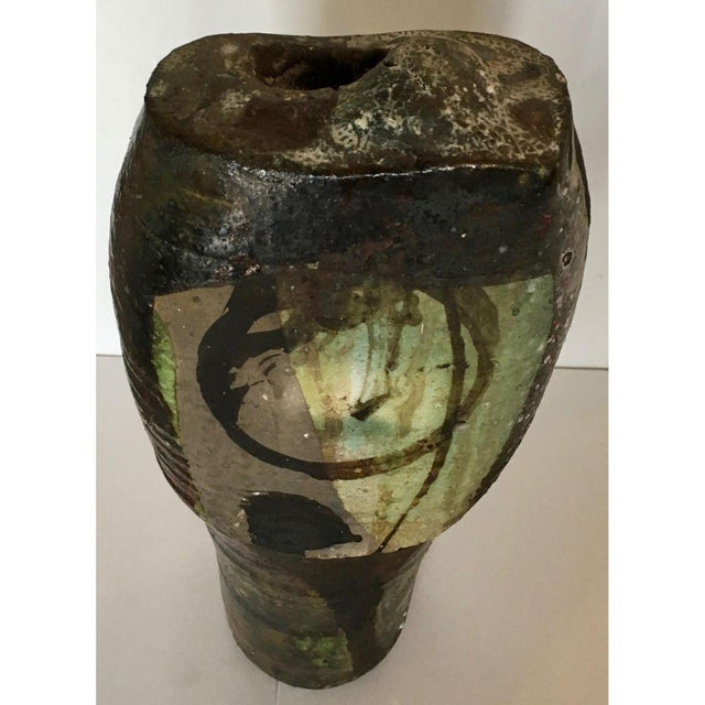 Brutalist Art Pottery Vase - Image 6 of 7