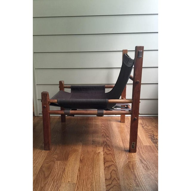 Arne Norell Arne Norell Style Campaign Sling Chair For Sale - Image 4 of 11