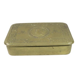 "1910s English ""Mary"" Box For Sale"