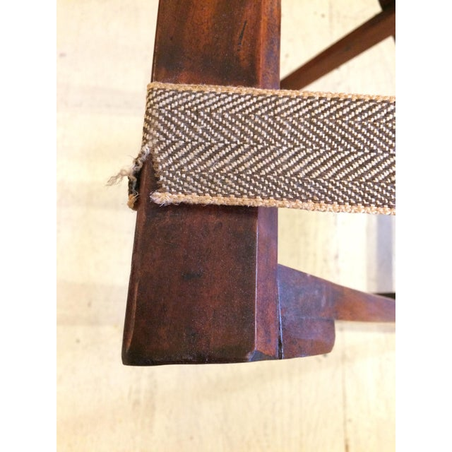 Brown English Traditional Mahogany Butler's Tray Table For Sale - Image 8 of 11