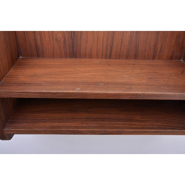 Small Danish Rosewood Wall Shelf, 1960s For Sale - Image 9 of 10