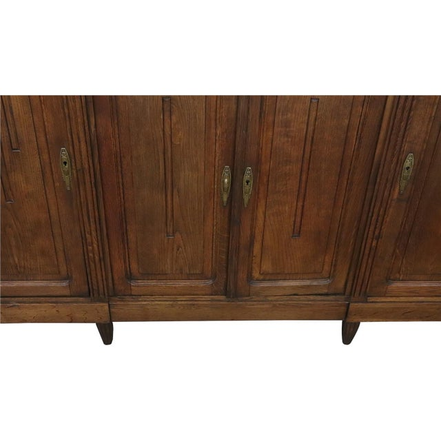 Brown 1920 Art Deco Mid Century Modern French Server For Sale - Image 8 of 11