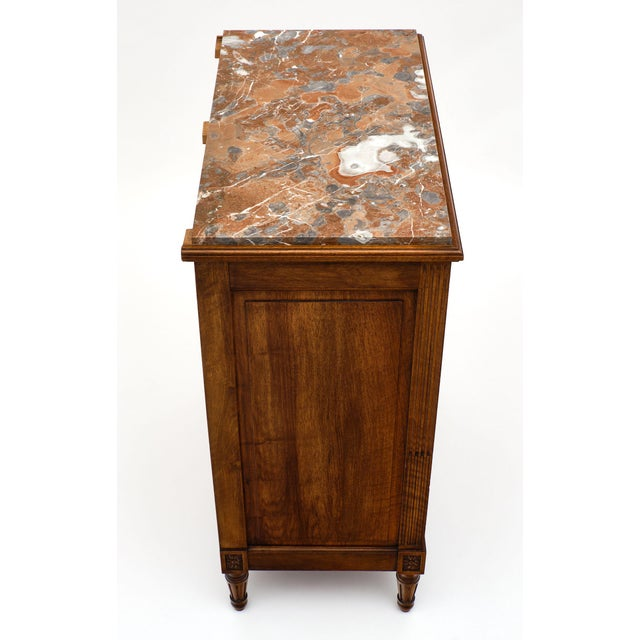 Louis XVI Style 'Argentier' With Marble Top For Sale In Austin - Image 6 of 10