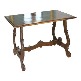 Tuscan Trestle Center Table For Sale