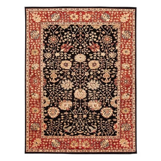 """Contemporary Indian Rug, 8'9"""" X 11'8"""" For Sale"""