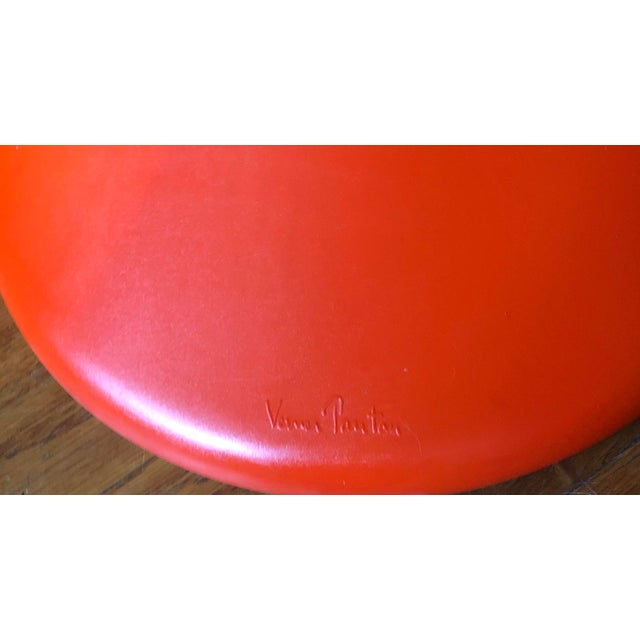 2010s Verner Panton for Vitra Chairs- Set of 4 For Sale - Image 5 of 11