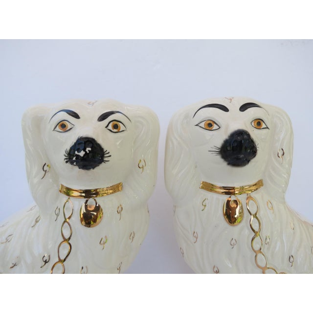 Staffordshire Spaniels - a Pair For Sale - Image 9 of 10