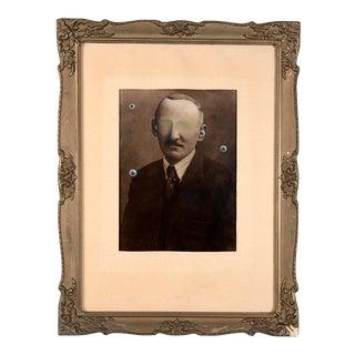 Jana Paleckova: Untitled (Man With Eyeballs)