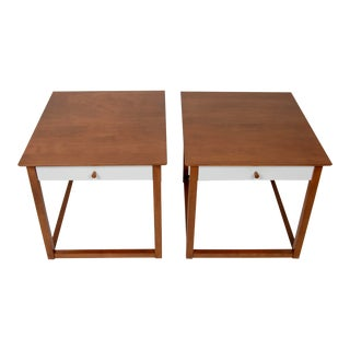 Early Milo Baughman End Tables for Murray Mid-Century Modern For Sale
