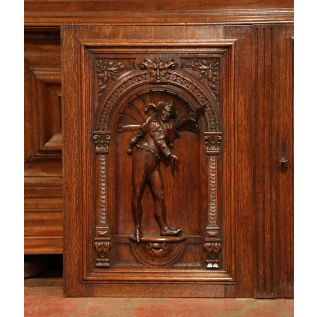 Hide your TV or built closets in a living room or media room with this pair of antique Henri II cabinet doors. Crafted in...