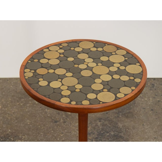 Mid-Century Modern 1960s Martz Coin Tile Side Table For Sale - Image 3 of 11