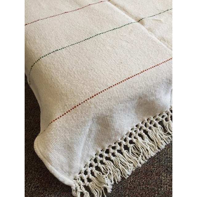 Natural Merino Wool Drapes/Bed Covers – A Pair For Sale - Image 4 of 7