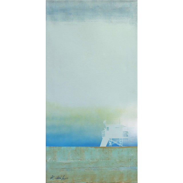 """Dissipating Silence"" Original Artwork by Kathleen Keifer For Sale - Image 9 of 9"