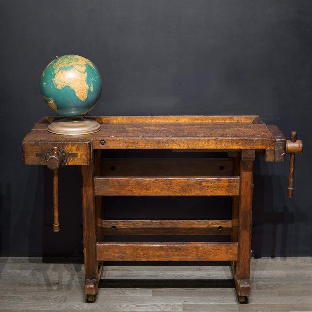 Black Walnut and Douglas Fir American Carpenter's Workbench C.1900 For Sale - Image 9 of 11