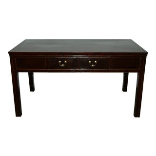Antique Chinese Elm Desk / Console For Sale