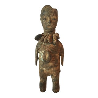 Vintage Mid-Century Tribal Ritual Figure For Sale