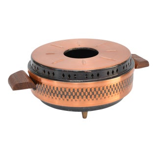 1960s Copper Candle Warmer, Germany For Sale