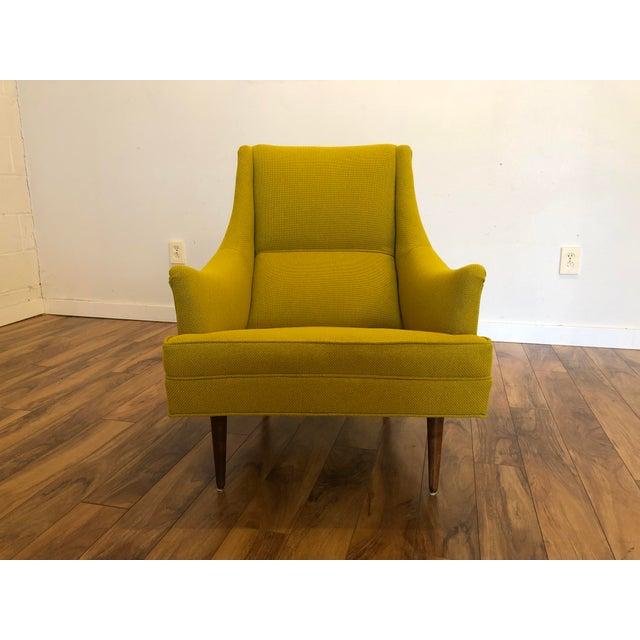 Mid-Century Modern Milo Baughman Thayer Coggin Chair For Sale - Image 3 of 10