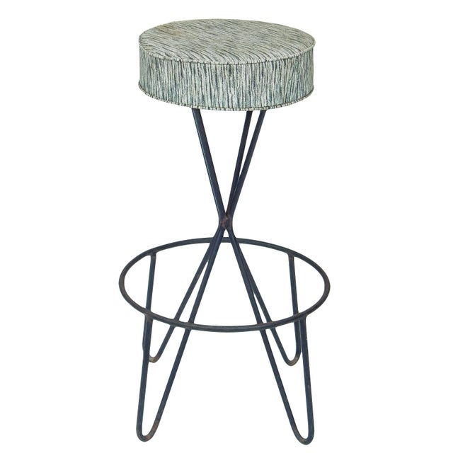 Mid-Century Modern 1960s Paul Tuttle Stools - Set of 3 For Sale - Image 3 of 12