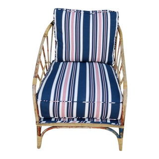 Vintage 1920's Rattan Chair For Sale