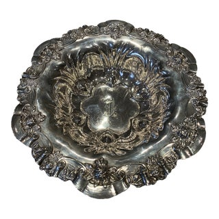 Large Sterling Silver Bowl by Meriden Britannia Company For Sale