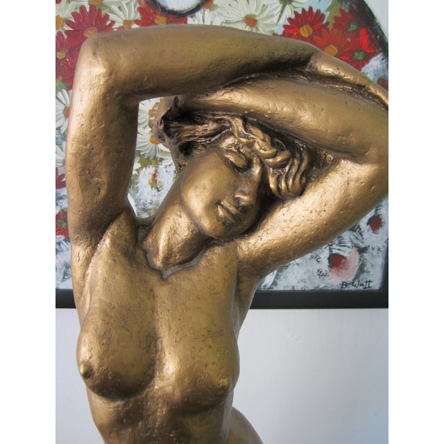Mid-Century Marotta Plaster Nude Sculpture For Sale - Image 5 of 8