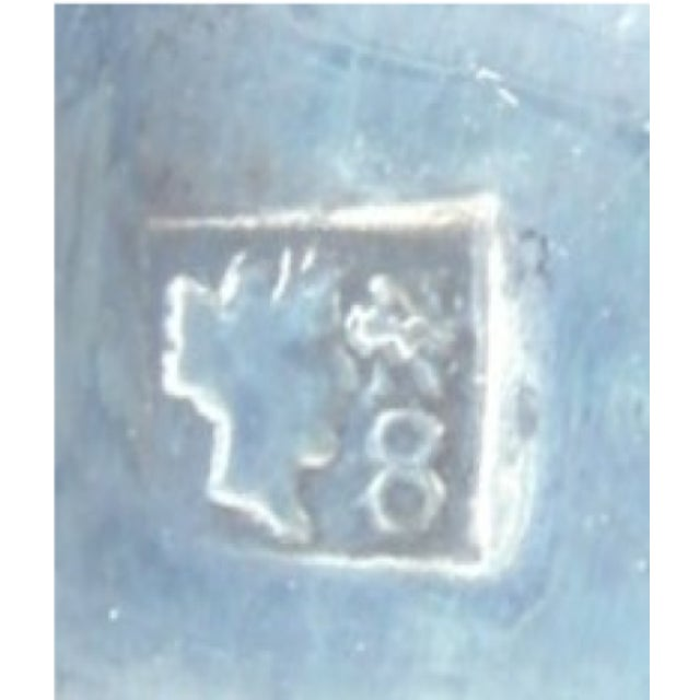 Metal Italian Silver Barrel Shaped Liquor Cup For Sale - Image 7 of 9
