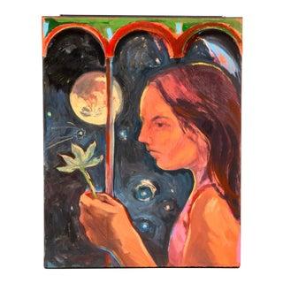 """Rachel Loyacono Original """"Nocturne"""" Painting For Sale"""