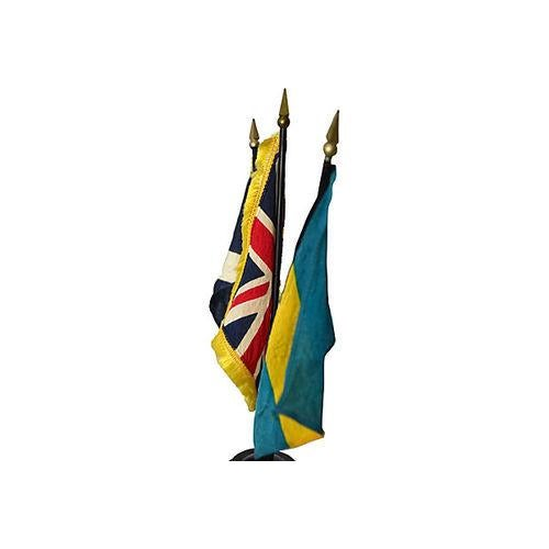 Vintage Petite Flag Stand - Image 3 of 6