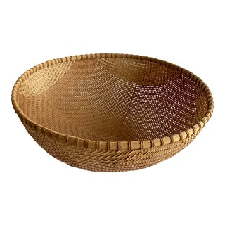 Woven Reed Basket For Sale