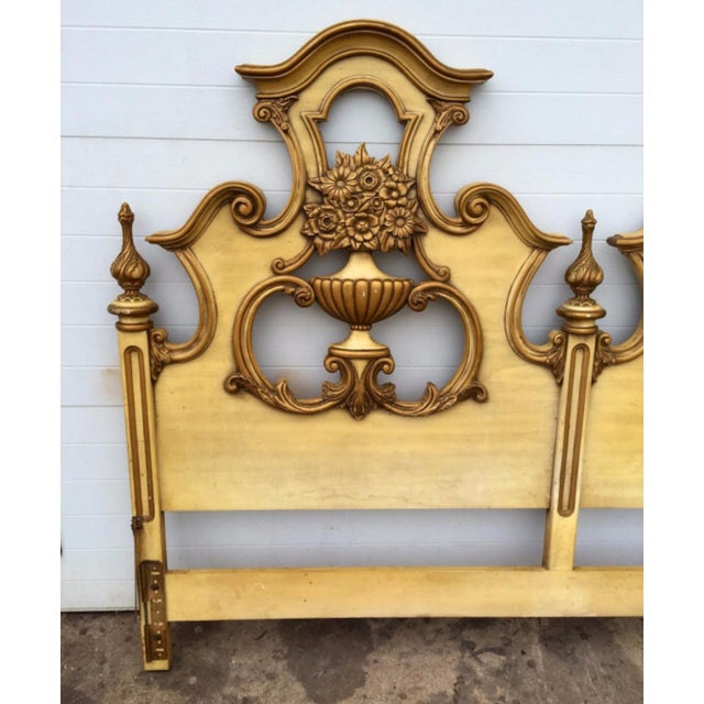 Hollywood Regency Style King Size Headboard - Image 3 of 4