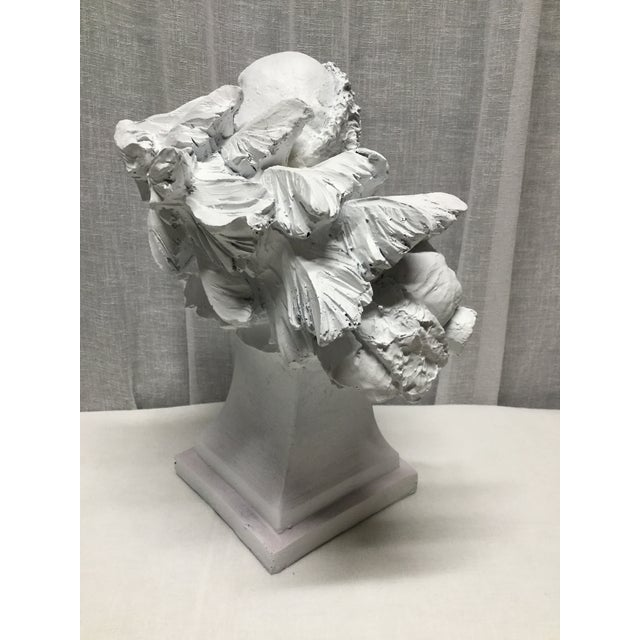 American Vintage Santa Carrying Lantern and Christmas Tree Statue or Bust For Sale - Image 3 of 5
