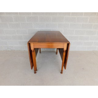 L & J G Stickley Cherry Valley Drop Side Dining Table Preview